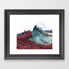 Lettie Hempstock's Ocean Framed Art Print