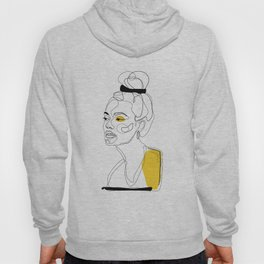 Yellow Sketch Hoody