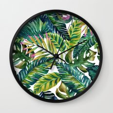 banana life Wall Clock