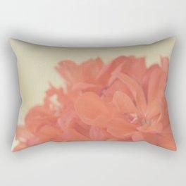 Zonal Pelargonium Flower Rectangular Pillow