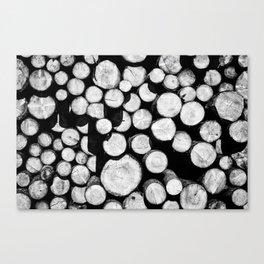 Sawn Timber Canvas Print