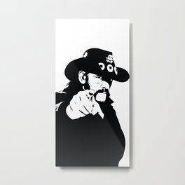 Born to Lose, Lived to Win | Motorhead Metal Print