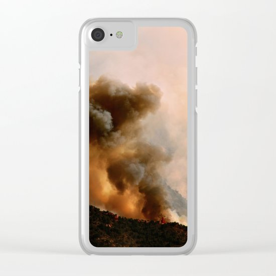 Cedar City Forest Fire - III Clear iPhone Case