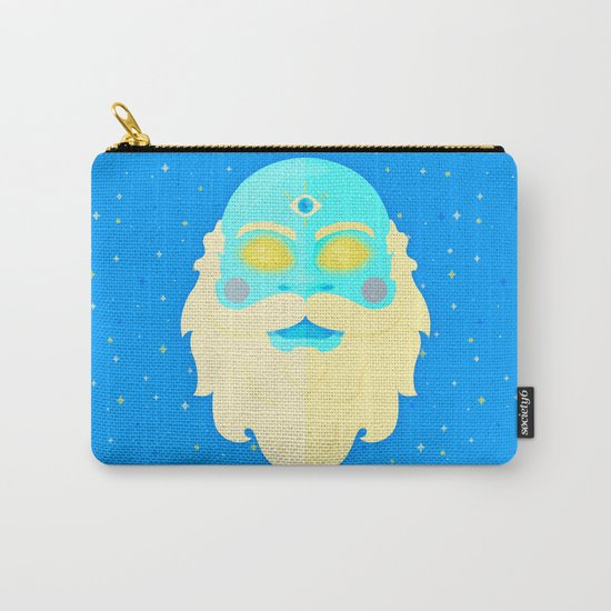 Santa Cosmos Carry-All Pouch