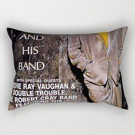 Stevie Ray Vaughan - Alpine Valley Rectangular Pillow