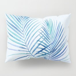 Feathery Palm Leaves Pillow Sham