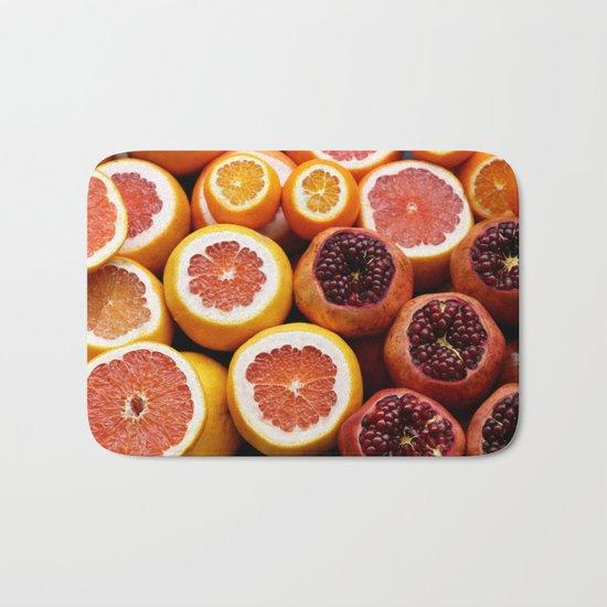 Citrus Pomegranate Bath Mat