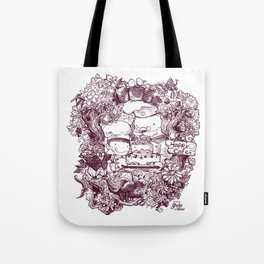 Happy Cafe Tote Bag