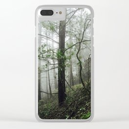 Tranquil Trail - Northern California Clear iPhone Case