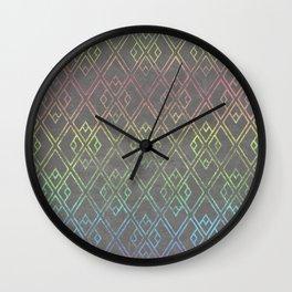 Square Patina Wall Clock