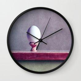 Coquetier Wall Clock