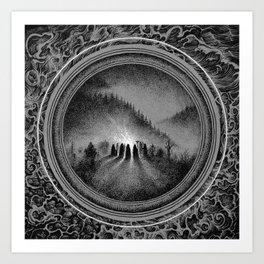 Cremation Art Print