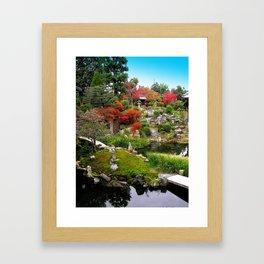 Kyoto Gardens #1 Framed Art Print