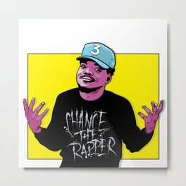 The Rapper Metal Print