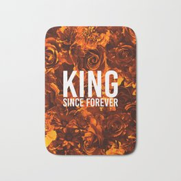 flowers 55 - king Bath Mat