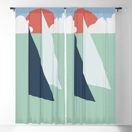 Regatta pastel Blackout Curtain