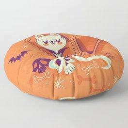 Vampire Kitty Floor Pillow