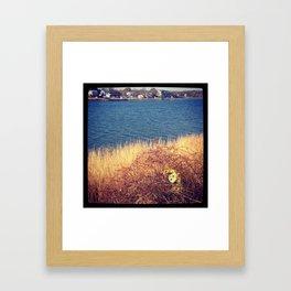Sponge Bob had an accident Framed Art Print
