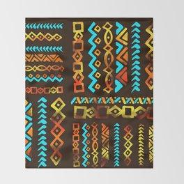 Bold Ethnic pattern n.5 Throw Blanket