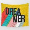 Dreamer Typography Color Poster Dream Imagine by seasonofvictory