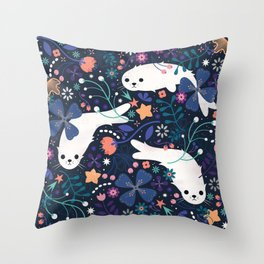 Selkies Throw Pillow