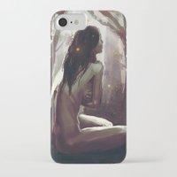 wonderland iPhone & iPod Cases featuring Wonderland by NArtist_P3rhaps