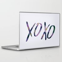 xoxo Laptop & iPad Skins featuring XOXO by Leah Flores