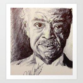 Al Sharpton Art Print