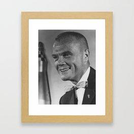 Astronaut John Glenn Framed Art Print