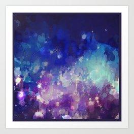 Sparkle Nights Art Print