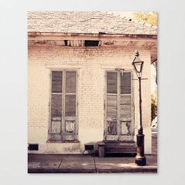 Old Shutters Canvas Print