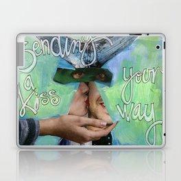 Sending A  Kiss Your Way Laptop & iPad Skin