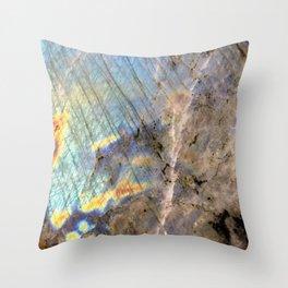 Labradorite Throw Pillow