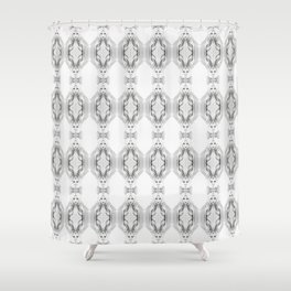 nude collage 1 Shower Curtain