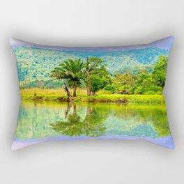 RIVER MIRROR Rectangular Pillow