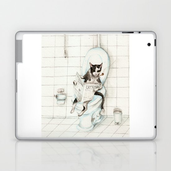 DO NOT DISTURB Laptop & iPad Skin