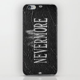 Signs: Nevermore iPhone Skin