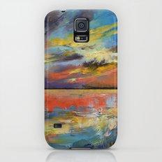 Key West Florida Sunset Slim Case Galaxy S5