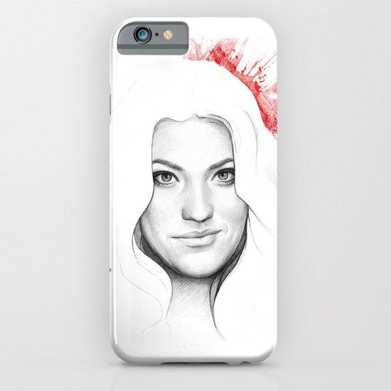 Debra and Blood Splatters iPhone & iPod Case