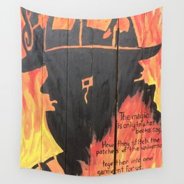 Burnt Pages Wall Tapestry