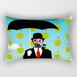 Umbrella Man Rectangular Pillow