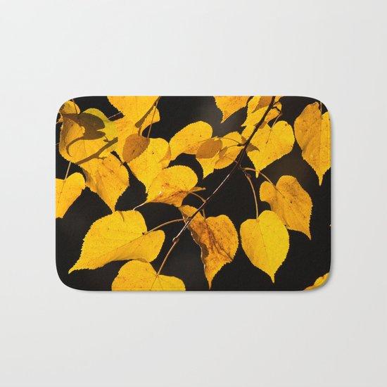 Autumn Foliage Bath Mat