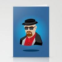 heisenberg Stationery Cards featuring Heisenberg by Kody Christian