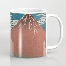 Fine Wind, Clear Weather by Hokusai Coffee Mug