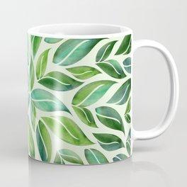 Spring Leaf Mandala Coffee Mug