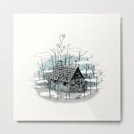 DEEP IN THE HEART OF THE FOREST Metal Print