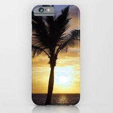 Tropical Sunrise Palm Silhouette iPhone 6 Slim Case