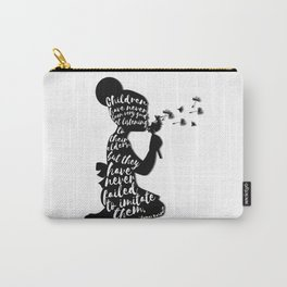 Children have never been very good at listening to their elders, but they have never failed to imita Carry-All Pouch