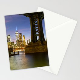 NYC from Brooklyn Stationery Cards
