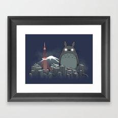My Angry Neighbor Framed Art Print